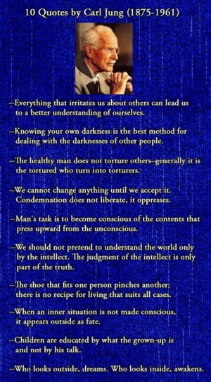 Carl Jung quotes // my favorite psychologist. so intrigued by his work ...
