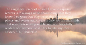 Top Quotes About Aspiring Writers