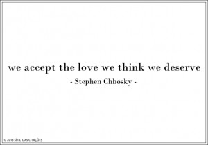 love, quote, quotes, sayings, stephen chbosky, the perks of being a ...