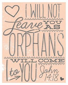 Adoption print for our home someday ... Lord willing we can adopt a ...