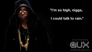 20 worst rap lyrics of 2012