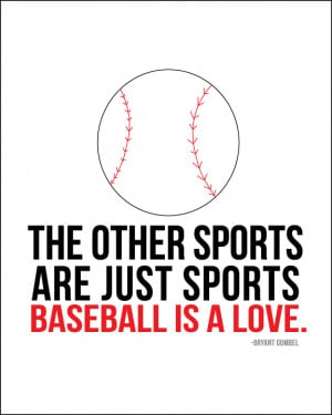 Baseball Love Quotes