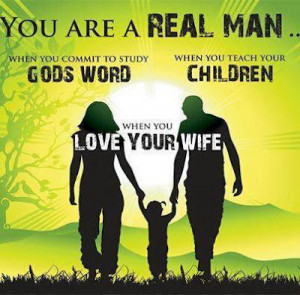 This is it. Perfection will never come. Butbeing a Real Man means…