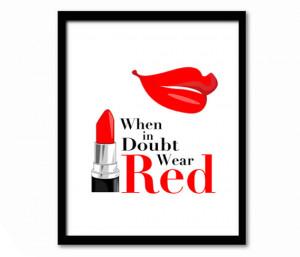 Cute Red Lipstick Quotes Cute red lipstick quotes when