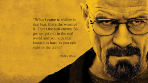 Walter White quote wallpaper