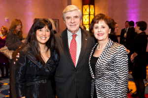 for a picture with Sen Ben Nelson D NE and his wife Diane Nelson
