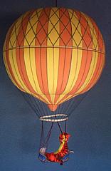 Jacques Alexander Cesar Charles Balloon Model