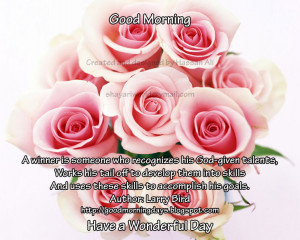 Good Morning Quotes for 22-05-2010