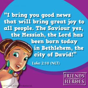 Bible verse - Jesus Birth