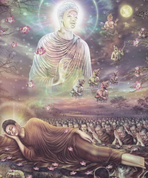 Wesak 2014. Het verhaal over het sterven van Boeddha; zijn dood in 544 ...