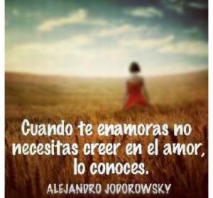 Alejandro jodorowsky quote love