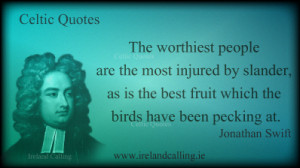 Illustration of Jonathan Swift quote: