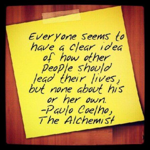 quotes from the alchemist paulo coelho
