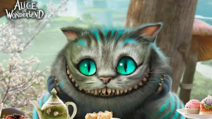 Download Cheshire Cat - Alice in Wonderland wallpaper
