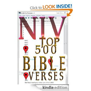NIV Top 500 Bible Verses [Kindle Edition]