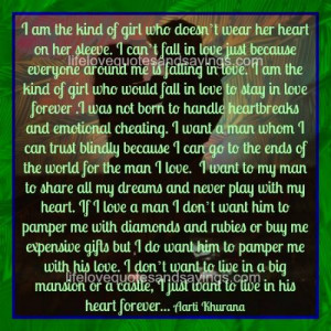 Want To Live In Your Heart Forever..