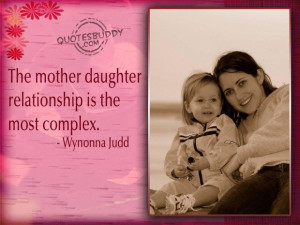 Quotes about mother and daughter bond