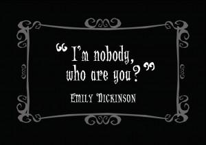 Delightfully Dark Quotes: Emily Dickinson