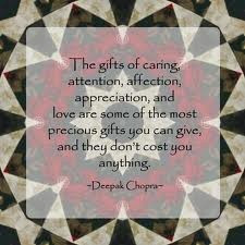 One of Deepak Chopra's Quotes. Really wish more people in my life ...