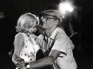 El baile triste de Arthur Miller y Marilyn Monroe