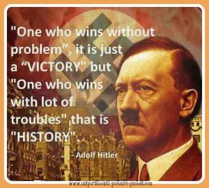 Adolf Hitler Inspirational Quote