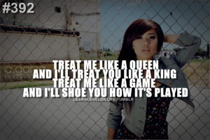That's a good quote! ;) 392AND I'LL SHOE YOU HOW IT'S ...