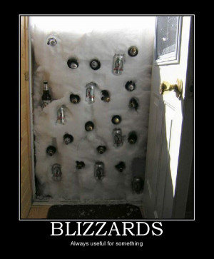 It's all in the presentation. Blizzards