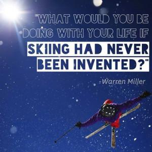 ski snow skiing mountain life outdoor