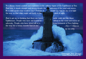 Inspirational And Motivational Quotes About The Light House Standing ...