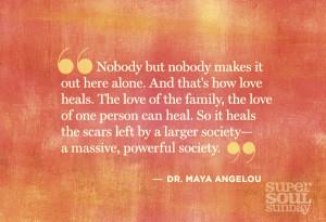 Maya Angelou Quotes Oprah
