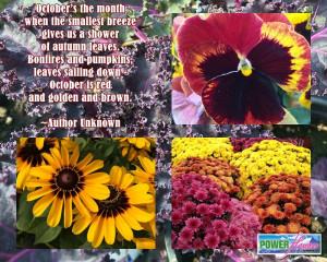 Fall or Autumn Garden Quotes