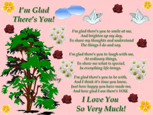 Glad There's You!!!! photo ImGladTheresYou.jpg