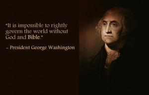 George Washington, 1st American President (Term: 1789-1797)