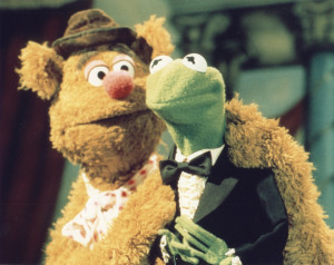 Kermit, can you reach the hostess call button? I'm hungry