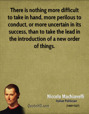 niccolo machiavelli famous quotes