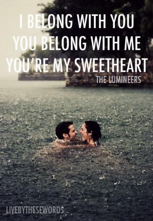 We Belong Together Quotes We belong together