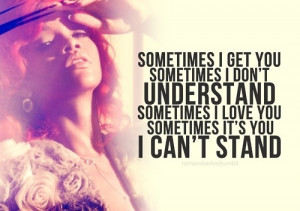 Rihanna #complicated #lyrics