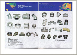 Iron Pipe Fittings Catalog