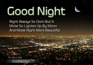 Sweet Goodnight Quotes Messages