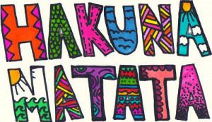 beautiful, drawing, drawings, hakuna matata, lion king, quote, quotes