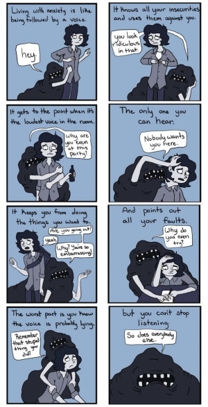 ... Anxiety Comics, Mindfulness Consumer, Mental Disorder Quotes, Anxiety