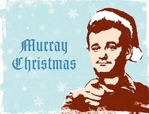 actor Bill Murray wishes you a very Murray Christmas