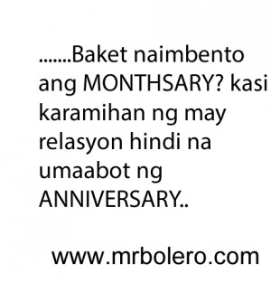 Tagalog Monthsary Quotes For Girlfriend. QuotesGram
