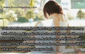 Measure your life by what you have image quotes and sayings