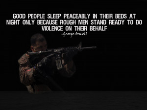 """Force Recon Marine Poster """"Rough Men Stand Ready"""""""