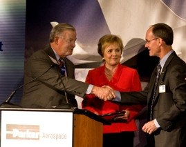 ... Kay Granger (R-Tex.), praising Parker Aerospace employees for