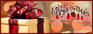 ... Gift Xmas Wishes with New Year 2014 Celebration FB Timeline Picture