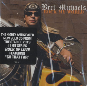 Bret Michaels, Rock My World, USA, Deleted, CD album (CDLP), VH1 ...