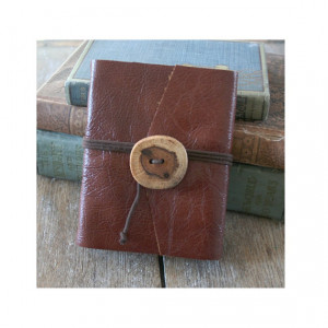 Leather Journal . Charles Dickens