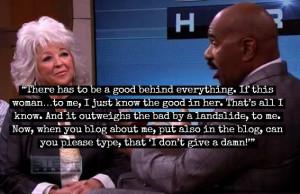 Steve Harvey Wants Paula Deen to Mentor Black Youth